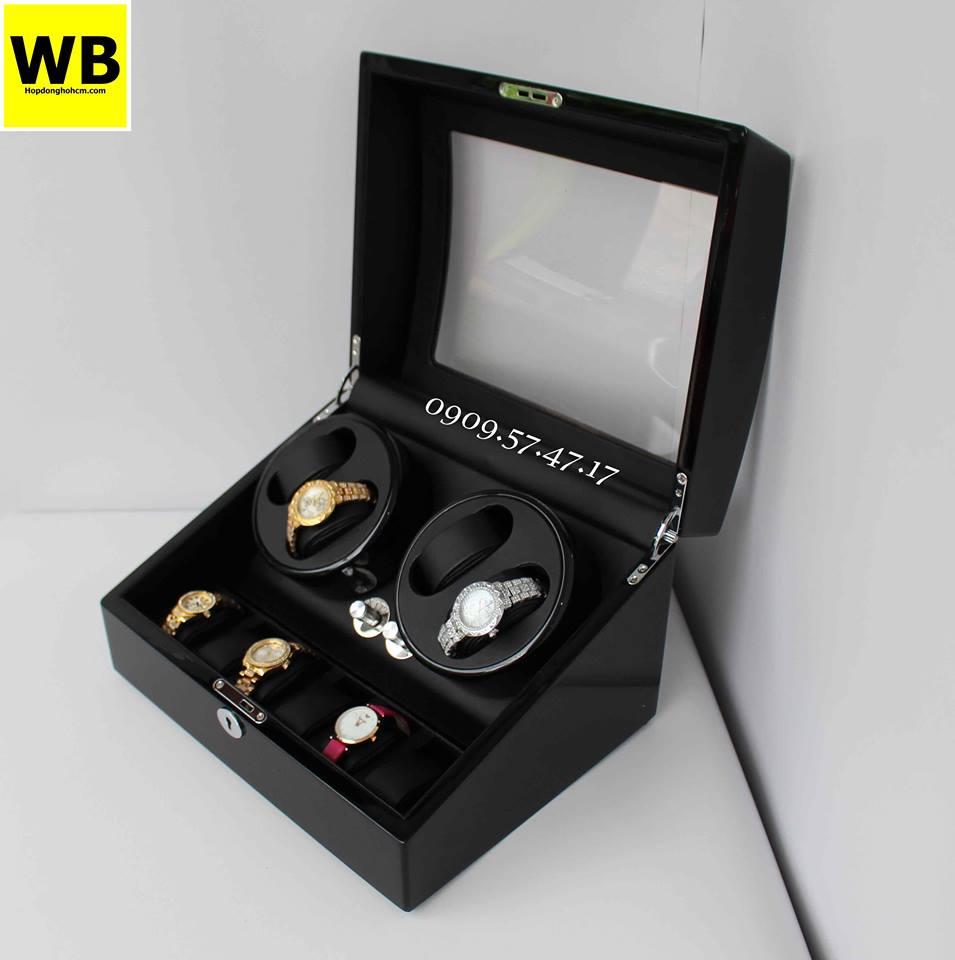 những mẫu hộp đựng đồng hồ cơ cho nam cao cấp, đẹp
