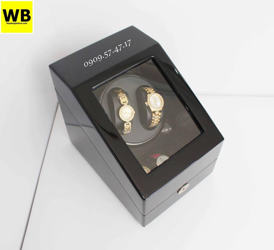 hộp đựng đồng hồ cơ kết hợp trưng bày cho nam
