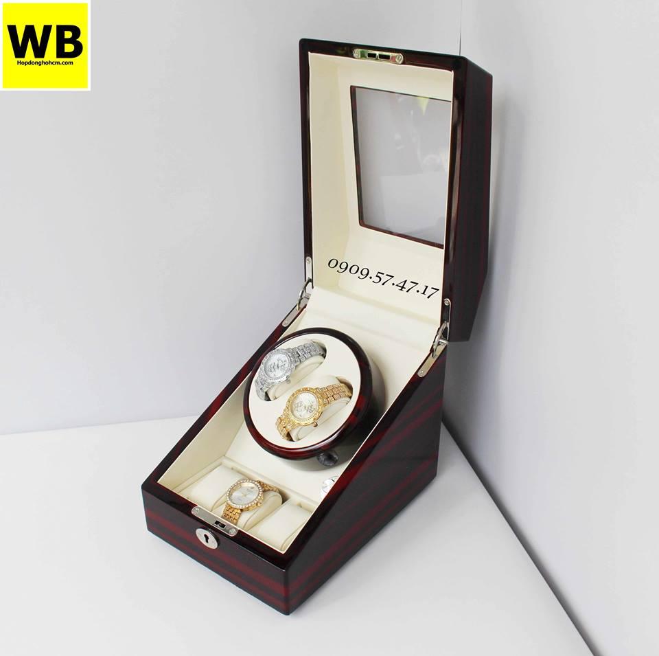 sử dụng hộp xoay cho những chiếc đồng hồ automatic