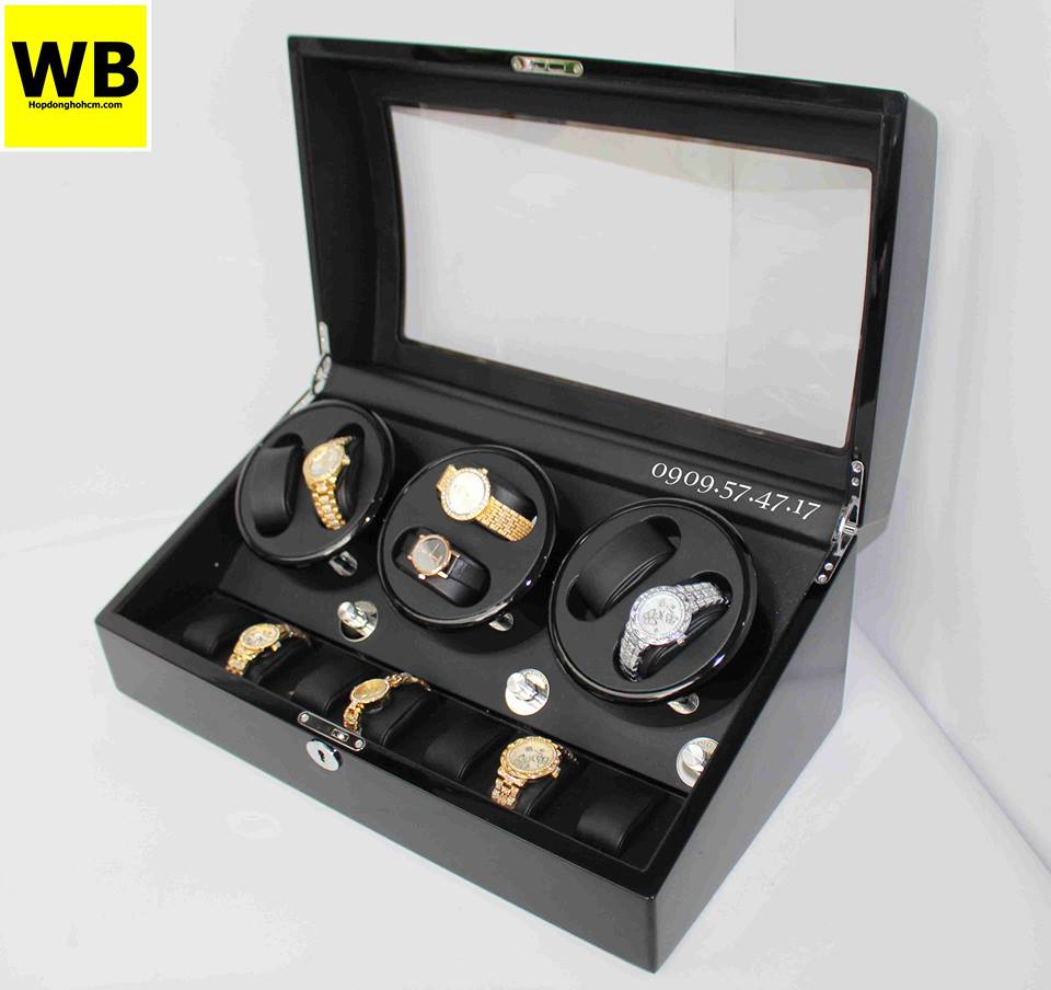bán hộp để đồng hồ cơ chất lượng ở tphcm