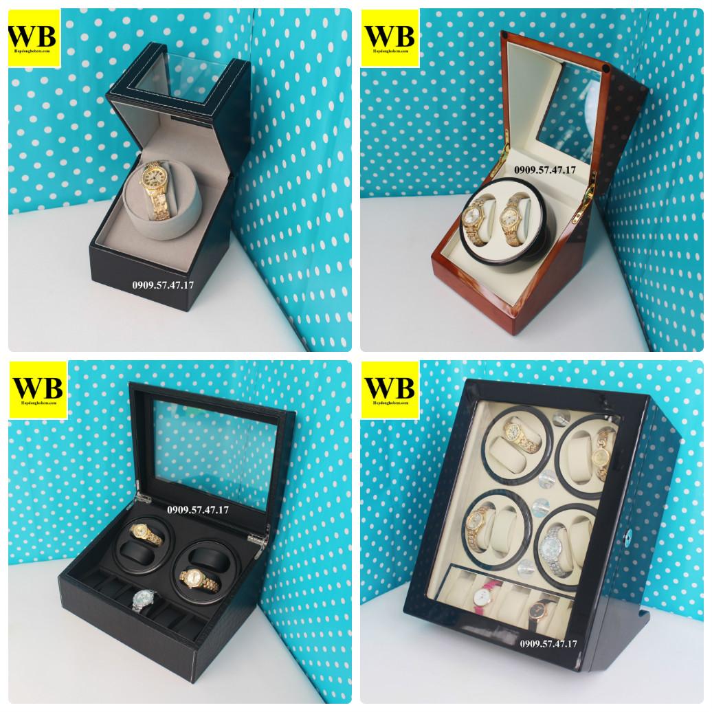 các mẫu hộp lắc đồng hồ automatic có nhiều ngăn khác nhau
