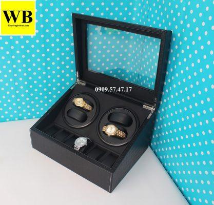 chọn mẫu hộp xoay đồng hồ cơ cho nữ