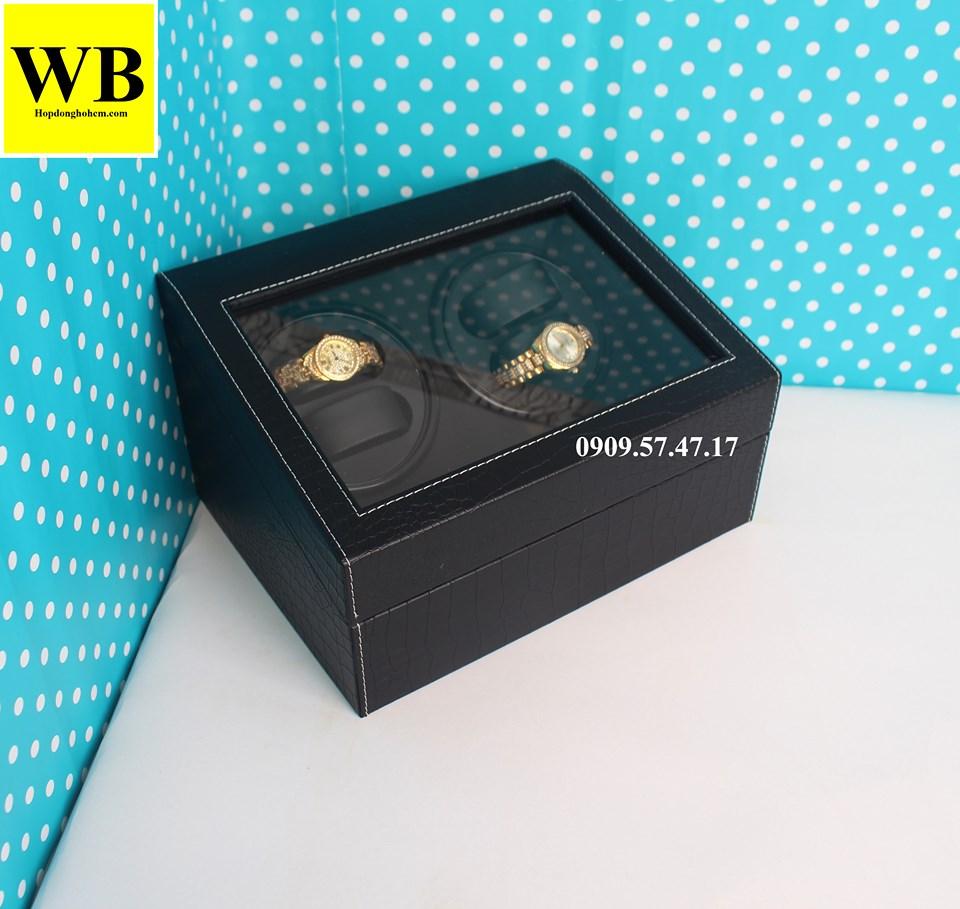 hộp đựng đồng hồ cơ 4 chiếc cho nữ