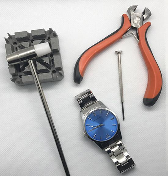 hướng dẫn cắt dây cho đồng hồ với vật dụng đơn giản tại nhà