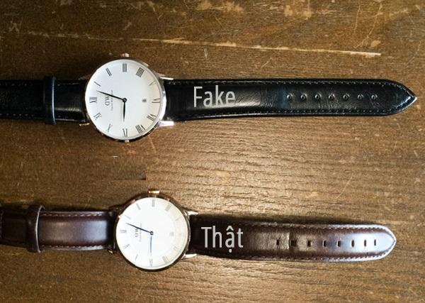 đồng hồ Daniel Wellington thật hay giả được phân biệt như thế nào
