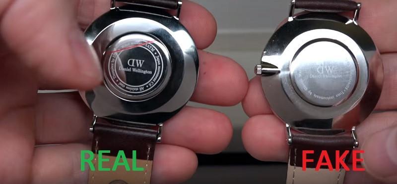 những lưu ý để phân biệt đồng hồ dw giả