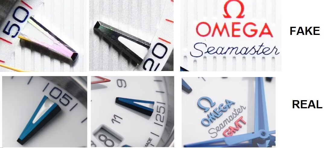 cách xác định đồng hồ omega thật và giả đơn giản
