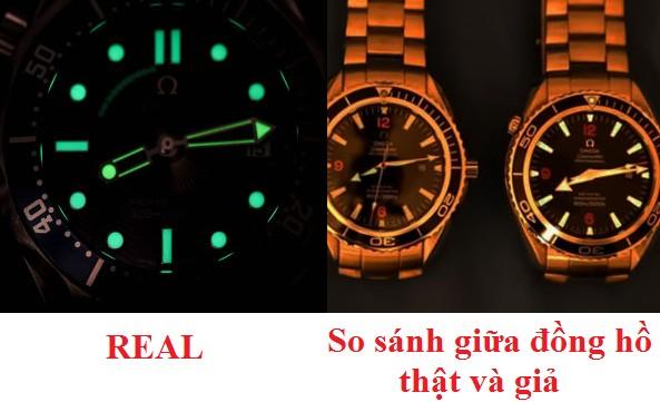 đơn giản với cách phân biệt đồng hồ omega thật và giả