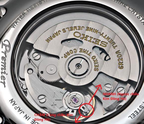 chỉnh đồng hồ cơ đúng cách an toàn
