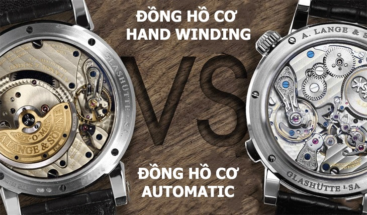 hướng dẫn lên cót cho từng loại đồng hồ cơ khác nhau