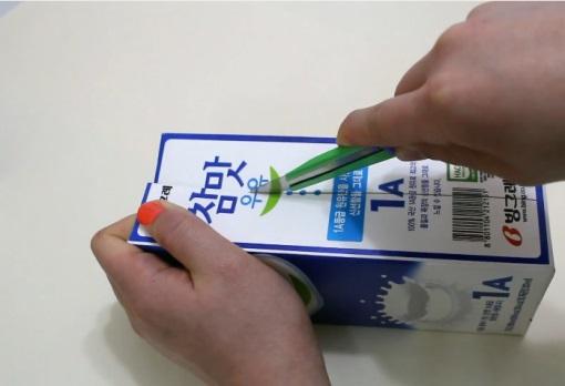 cách tự làm hộp trang sức bằng hộp sữa