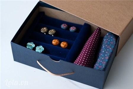 làm hộp trang sức handmade