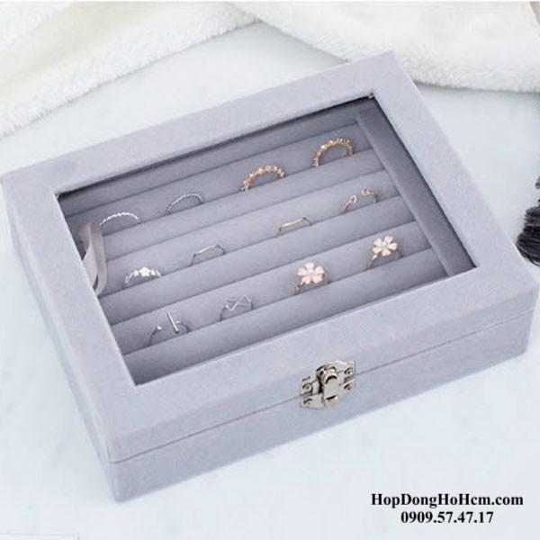 hộp đựng nhẫn mini