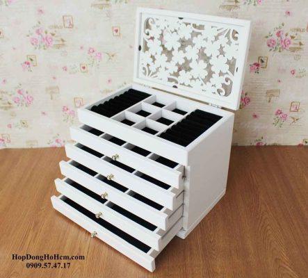 hộp đựng nữ trang bằng gỗ