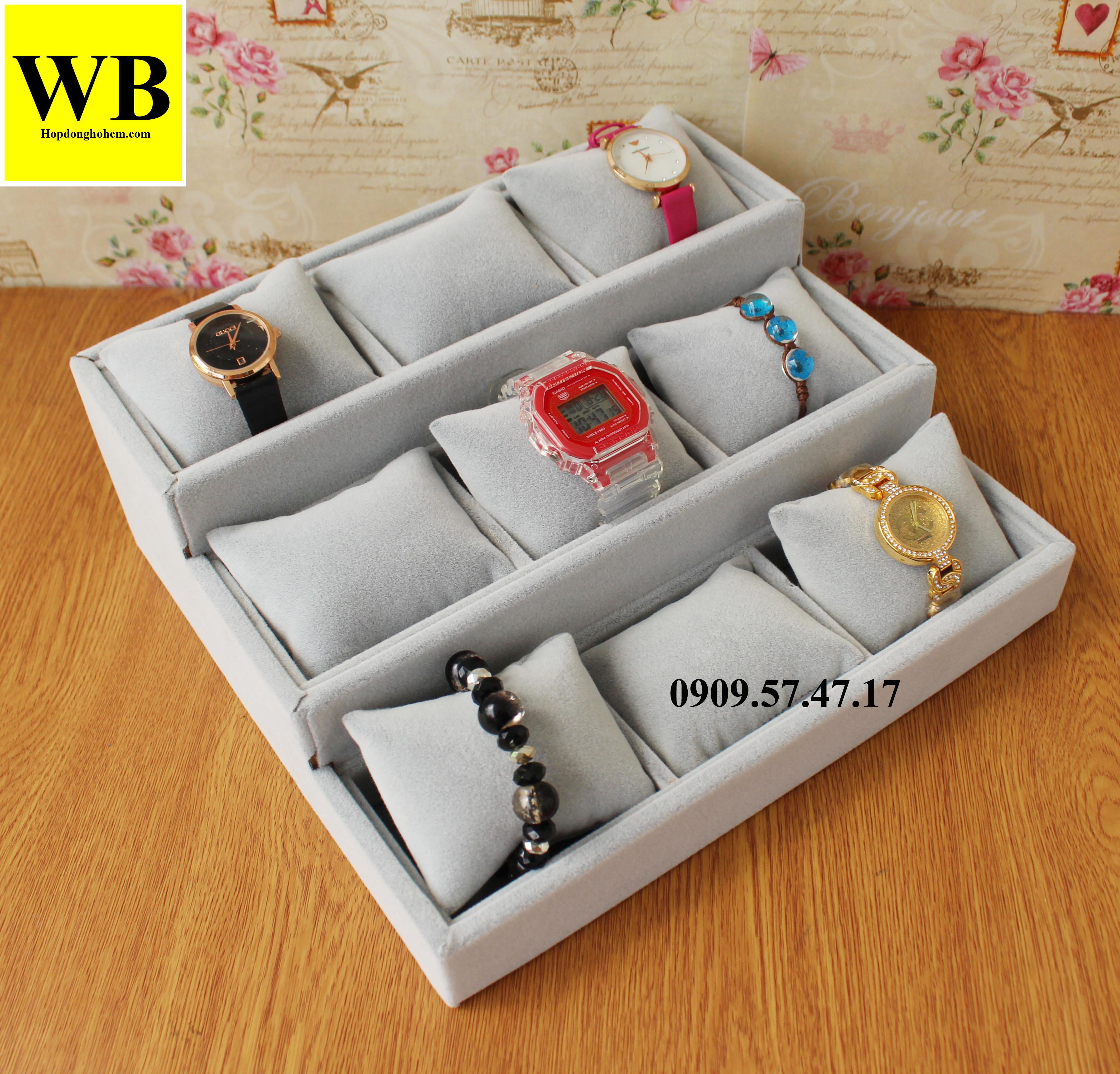 bán khay đựng trưng bày đồng hồ ở hcm