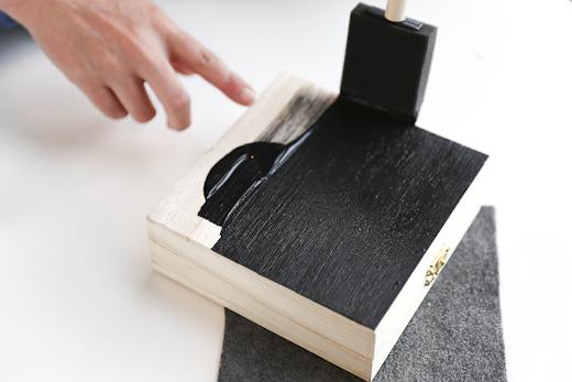 cách tự làm hộp trang sức gỗ