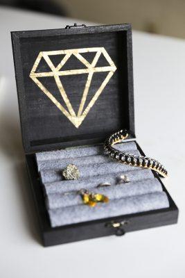 hộp đựng trang sức handmade