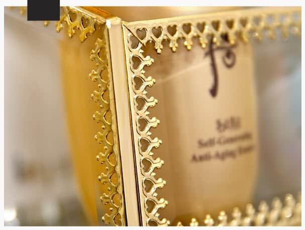 khay đựng trang sức golden