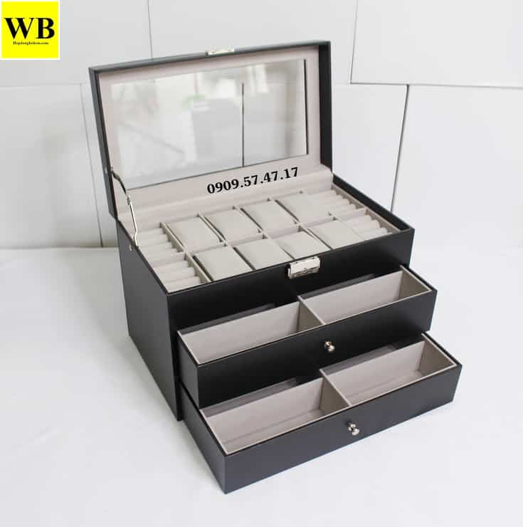 hộp đồng hồ và trang sức cao cấp